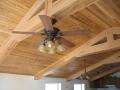 Wood covered steel beams